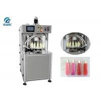 Rotary Type Lip Gloss Filling Machine Multi - Colors Lip Gloss