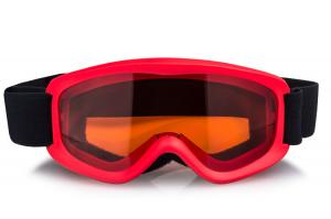 China Colorful cute children use safety ski goggles, good quality full REVO gold lens and customzied cute frame ski goggles on sale