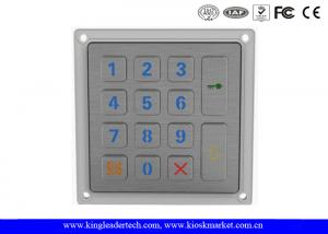 China 14 Keys Smart Door Entry Keypad / Stainless Steel Outdoor Keypad IP65 on sale