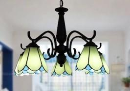 China European Mediterranean Iron Art Countryside style Tiffany Lamps Pendant lights on sale