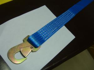 China ratchet tie down with flat J hooks on sale