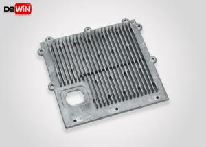 China Smooth Cast Surface Aluminium Heat Sink Plate High Pressure ADC12 Die Casting on sale
