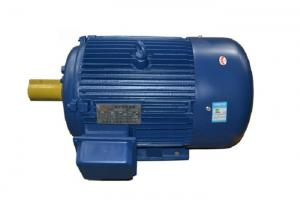 China Cast Iron Three Phase High Efficiency AC Motor , Induction Electric Motor 0.18kw-200kw on sale