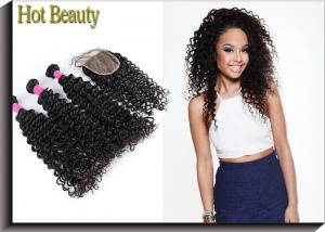 China 5A Grade Brazilian Human Hair Charming Deep Wave  Brazilian Hair Extensions on sale