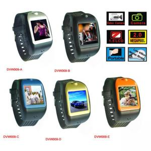 China 2.0 Mage Pixel Camera MP4 Player Watch DVW009 with Function of Vedio Recording on sale