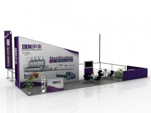 China Cabinas reciclables de la exhibición del convenio, señalización modular de la demostración de Ttrade on sale