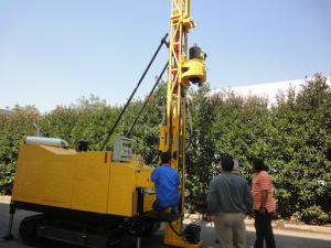 China Hydraulic Exploration Core Sample Drill Rig Geological Exploration Long Feeding on sale