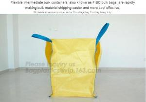 China uv resistant pp woven big bags 1000kg for peat,Cheap price 1 ton jumbo bags industrial FIBC sand pp woven big bag, BAGPA on sale