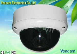China 1 / 4' SHARP CCD, 4-9mm Manual Zoom Lens Vandal Proof Dome Camera Of OSD Effio 650TV Lines on sale