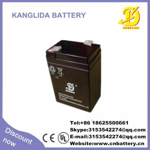 China fabricant rechargeable de batterie solaire de 6v 4ah en Chine on sale