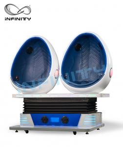 China Infinity Virtual Reality Game Action Cinemas Simulator / 9D VR Chair Theatre For Game Zone on sale