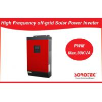 China 3KVA 2400W 24VDC Long Time Back up MPPT Solar Power Inverter with AC / PV Input Priority on sale