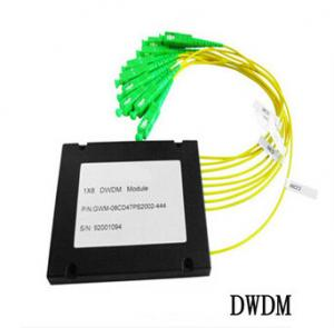 China 8CH Fiber Optic communication DWDM , Dense Wavelength Division Multiplexer on sale