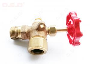 China OED / OEM Field Accessories Brass Forged Ball Valve Water Pipe Fittings on sale