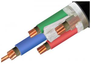 China Custom XLPE Insulation Cable , Copper Conductor Cable Environmental Protection on sale