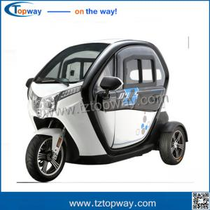 China 72v 50AH battery 3 wheel tricycle electric car for passenger with seat on sale