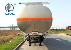 China 3 Axles Oil Fuel Tank Semi Truck Trailer  Semi Trailer Trucks Aviation Fuel Tankr Trailer on sale