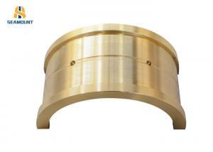 China Non Standard Eccentric Tin Bronze Bearing Bush Various Sizes Corrosion Resistant on sale