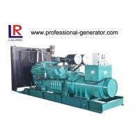 800KW 3 Phase Open Diesel Generator , Water Cooling Diesel 24V DC Generator