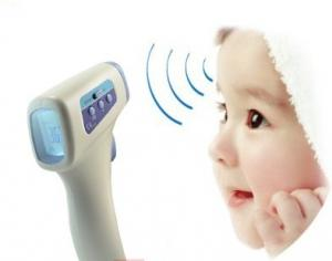 China Non Contact Laser Thermometer For Fever And Body Temperature Detection on sale