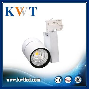 China Clothing store LED Track spotight 30W dimmable led track lighting fixture on sale