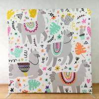 8X8 Pop Up Display Backdrop 250 Gsm Knitted Fabric Light Weight Tool Free