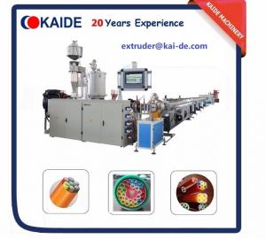 China PE Silicone Core Pipe Production Line /High speed telecom pipe extruder/automatic telecom pipe extruder on sale