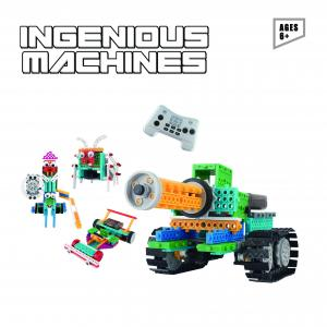 China Robotic Kit For Kids –237PCS Ingenious Machines Remote Control Building Kits For Kids – Awesome Fun Build Your Own Robot on sale