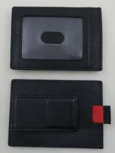 China Adjusted Tape Rfid Credit Card Holder Inside To Pull The Card Easy Operating on sale