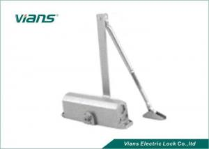 China Security Door Auto Closer With Hold Open , Commercial Hydraulic Door Closer Heavy Duty on sale