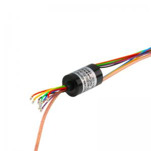 China Miniature Capsule HD Slip Ring Transferring Current and HD Video Signal For Video Surveillance on sale