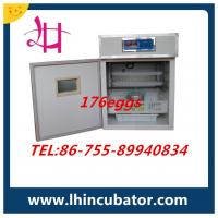 small egg incubator CE Marked best price 176 eggs incubator lh-2