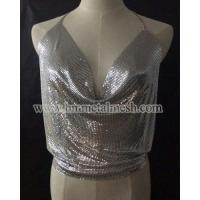 Sequin Fabric,Silver Metal Mesh For Dress