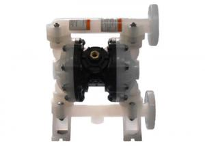 China Dn20 Air Driven Diaphragm Pump Pp Housing Material For Chemical Transfer on sale