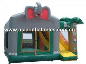 China 2012 Best Sale crazy fun indoor or outdoor commercial grade vinyl tarpaulin brand new inflatable castle combo on sale