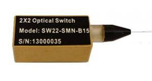 Quality ISO Certificate 2X2 Mechanical Fiber Optical Switch 27x12.6x8.2mm for sale