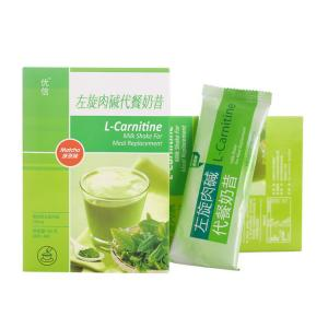 China Matcha Flavor Meal Replacement Products , L- Carnitine Weight Loss Shakes For Women on sale
