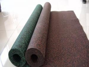 China Abrasion Resistant Colored EPDM Rubber Sheet with Size 3-10mm for Floor on sale