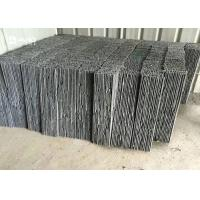 Grey Slate Cultured Stone Decorative Building Materials For Wall Covering / Drain Board
