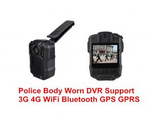 China Multi Purpose Police Shoulder Camera IP67 , Body Worn Camera With Night Vision on sale