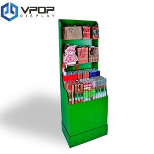 China Gift Bags Cardboard PDQ Displays Offset Printing Four Colors With Tray And Hook on sale