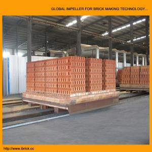 China New technical design clay brick tunnel kiln project with brick dryer chamber on sale