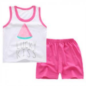 China Random combination wholesale Multiple patterns sleeveless boy set clothing on sale