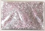 Pigmento de prata do brilho do hexágono da cor do ANIMAL DE ESTIMAÇÃO para produtos e o presente cosméticos do Natal