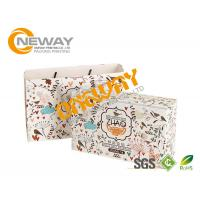 China Cardboard Paper Custom Printed Gift Boxes Full Color Print With Close Belt on sale