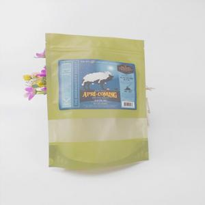 China Flat Bottom Stand Up Plastic Bags For Food Packaging on sale