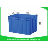 China 50L Plastic Stackable Storage Bins Space Saving , Recycle Plastic Stacking Boxes on sale
