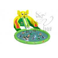 China 2014 New inflatable aqua slide professional manufacturer for whosale on sale