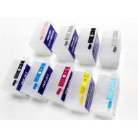 With auto reset chip!!refillable empty T7601 T7609 refill Printer Ink Cartridge For Epson P600