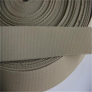 China Lightweight 30mm Pvc Coated Webbing High Durability Tear Resistant on sale